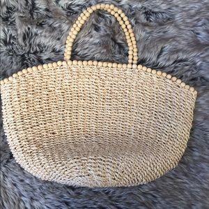 Handbags - Woven beaded handbag